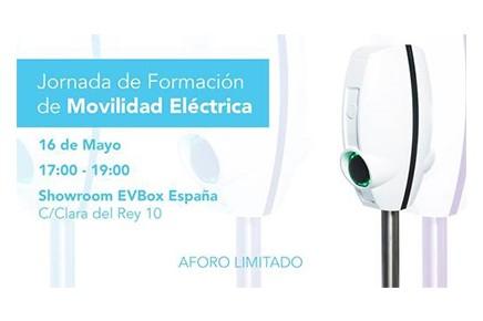 EVBox organiza unas Jornadas sobre Movilidad Eléctrica el 16 de Mayo