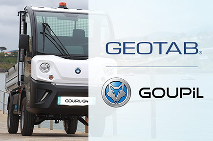 Geotab alcanza un acuerdo con Goupil Industrie (Grupo Polaris) para conectar a miles de vehículos eléctricos profesionales