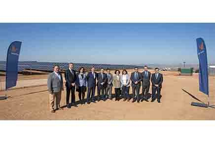 Naturgy inaugura la mayor planta solar fotovoltaica de Toledo