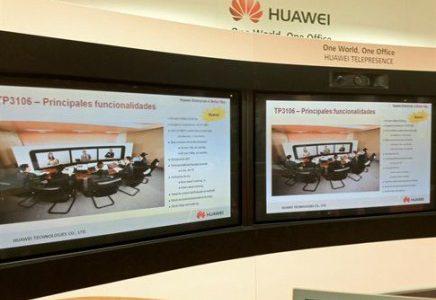 Huawei presenta su solución de Telepresencia 2.0