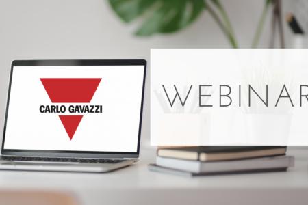 Carlo Gavazzi te invita a participar en tres webinar gratuitos
