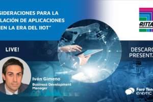 Consideraciones para la instalación de aplicaciones Edge en la era del IIoT