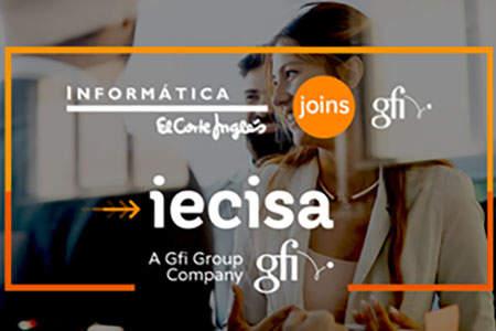 Gfi se posiciona entre las principales empresas de servicios de TI en Europa al firmar la adquisición de IECISA, la consultora tecnológica del Grupo El Corte Inglés