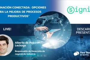 Iluminación conectada: opciones para la mejora de procesos productivos