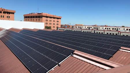 Telefónica convierte la cubierta de sus edificios en generadores de energía