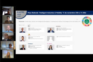 Mesa Redonda «Intelligent Industries & Mobility» Madrid