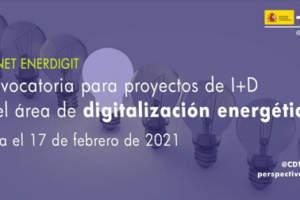 Abierta la primera convocatoria conjunta de la ERA-NET EnerDigit para proyectos de digitalización energética