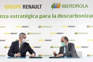 Grupo Renault sella una alianza con Iberdrola para alcanzar la huella de carbono cero en sus fábricas