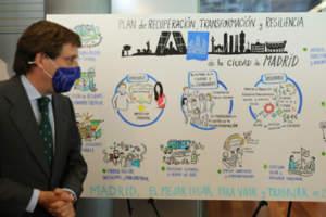 El Ayuntamiento expone su plan para acceder a los fondos europeos de recuperación con una inversión de 3.900 millones de euros