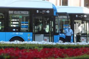 La EMT electrifica las líneas 33 y 50 y sumará trece líneas cero emisiones en septiembre