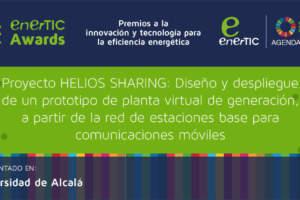 Proyecto HELIOS SHARING: Diseño y despliegue de un prototipo de planta virtual de generación, a partir de la red de estaciones base para comunicaciones móviles.