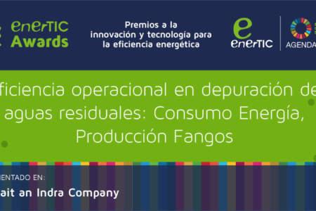 Eficiencia operacional en depuración de aguas residuales: Consumo Energía, Producción Fangos